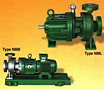 Sealless magnetic driven centrifugal pumps type NM, Frame size 0